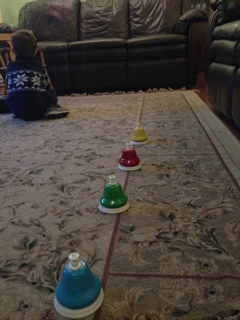 bells on the floor