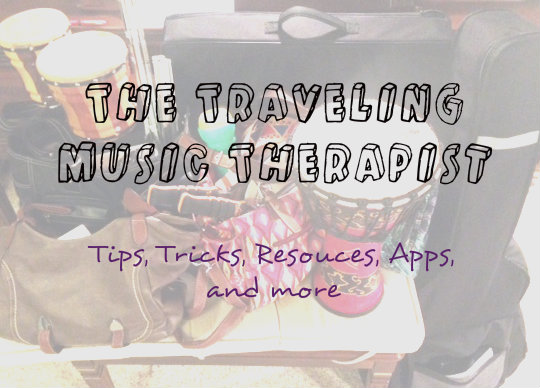 The Traveling Music Therapist: What's in the Car
