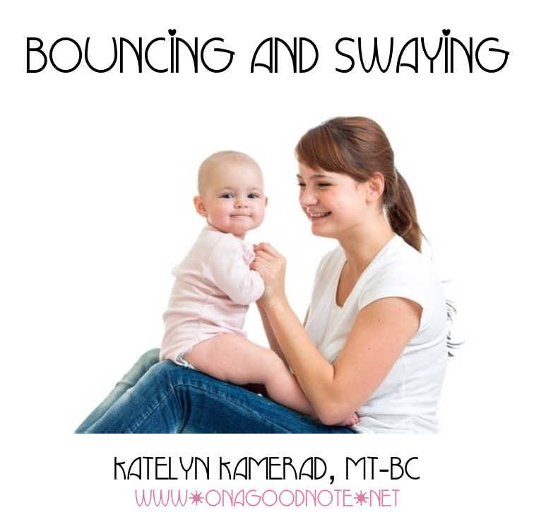 NEW SONG:  Bouncing and Swaying