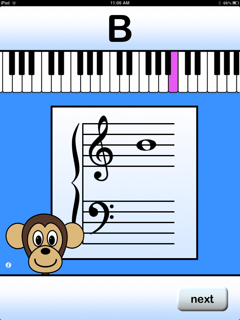 My Favorite Apps - Piano Monkey
