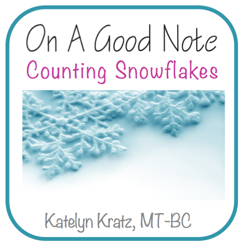 Counting Snowflakes - A Song for Counting